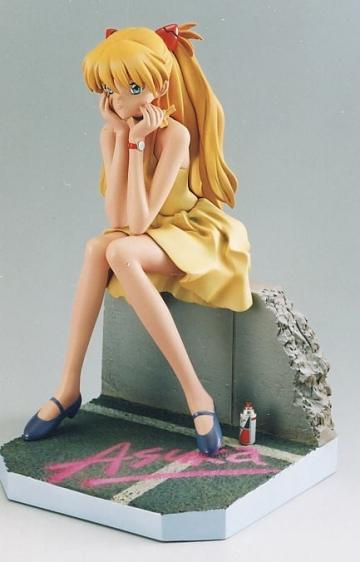 Asuka langley soryu yellow dress