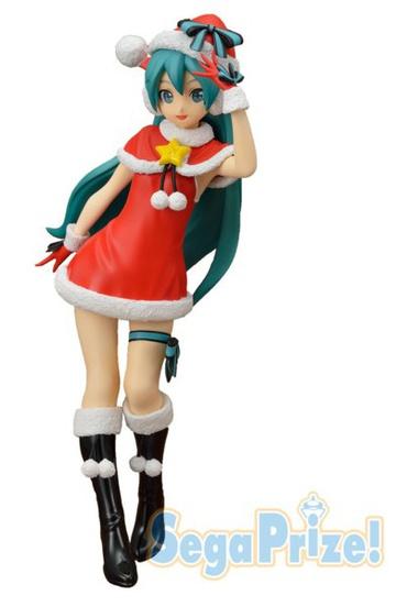 Miku Figure Christmas 2021 Spm Figure Hatsune Miku Christmas Ver My Anime Shelf