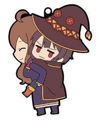Konosuba 2 Chararide Seoware Megumin Rubber Strap Megumin On Wiz My Anime Shelf She likes ant compliments really. my anime shelf