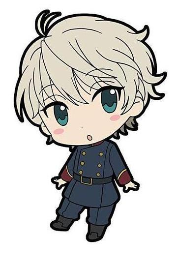 New Anime Aldnoah Zero AZ Slaine Troyard Inaho Rubber Phone Strap Charm Keychain