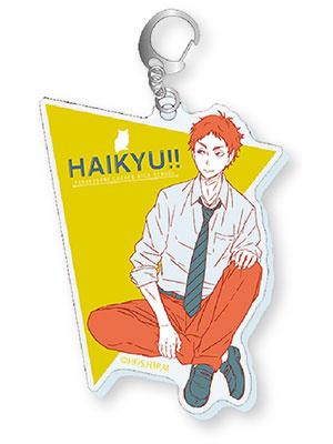 Haikyuu Acrylic Keychain Keiji Akaashi Fukuroudani Jump Festa 2018 Japan F//S