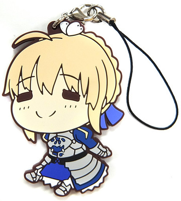 Fate stay night Heaven/'s Feel Saber Rubber Strap Keychain BANPRESTO