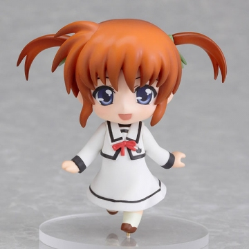 main photo of Nendoroid Petite: Mahou Shoujo Lyrical Nanoha The MOVIE 1st: Nanoha Takamachi (School uniform ver.)