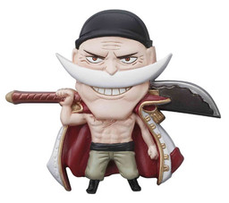 main photo of One Piece Mascot Relief Magnet: Edward Newgate