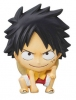 photo of One Piece Mascot Relief Magnet: Monkey D. Luffy