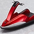ex:ride.009: Water Bike: Red