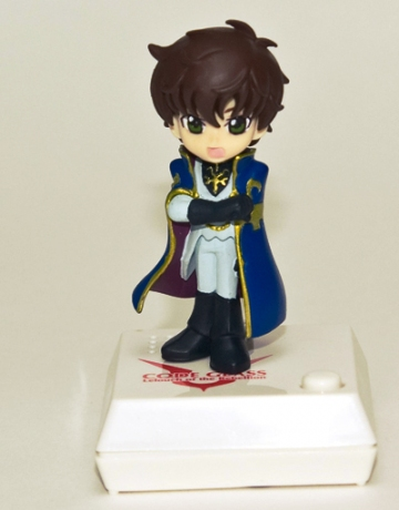 main photo of Code Geass R2 Chibi Voice I-doll: Suzaku Kururugi