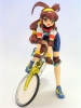 photo of Kanzaki Akari w/Bicycle