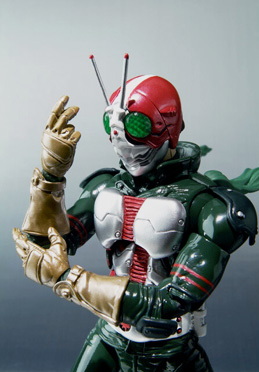 main photo of S.H.F. Kamen Rider V3