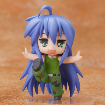 main photo of Nendoroid Petite Lucky Star x Street Fighter Set: Izumi Konata