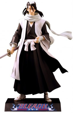 main photo of Bleach Action Figure Series 3 Kuchiki Byakuya