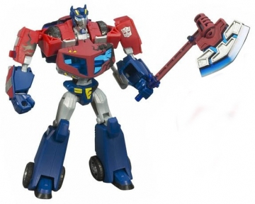 main photo of The Battle Begins: Optimus Prime