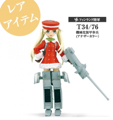 main photo of Mecha-Musume 3 Re-Paint: T 34/76 Ver. 2 (Rare figure)