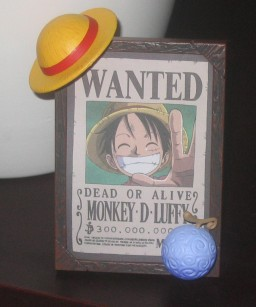 main photo of Wanted Mugiwara Pirates Collection: Monkey D. Luffy Secret Ver.