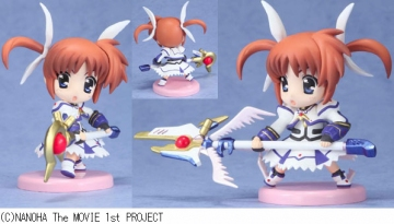 main photo of Magical Girl Lyrical Nanoha the MOVIE 1st Toy'sworks Collection 2.5: Nanoha (Barrier Jacket Ver)