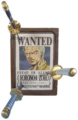 main photo of Wanted Mugiwara Pirates Collection: Roronoa Zoro