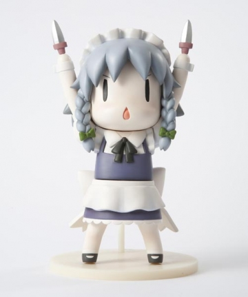 main photo of Tora no Ana Touhou Sofubi: Izayoi Sakuya