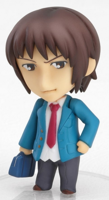 main photo of Nendoroid Petit Melancholy of Haruhi Suzumiya #01: Kyon 2