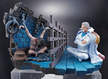 main photo of OP Log Box: The Under Water Prison Impel Down: Monkey D. Garp, Portgas D. Ace