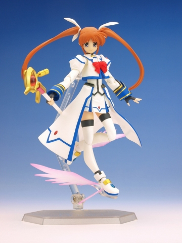 main photo of Figma Nanoha Takamachi Barrier Jacket Ver.