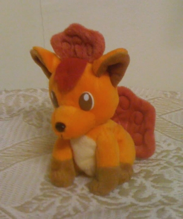 main photo of KFC Pokemon Promo Plush Vulpix