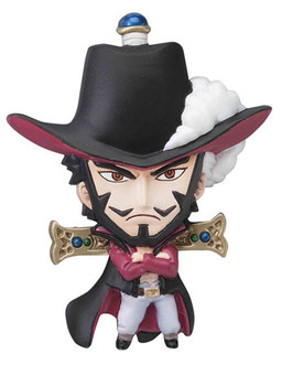 main photo of One Piece Mascot Relief Magnet: Juracule Mihawk