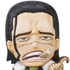 One Piece Mascot Relief Magnet: Sir Crocodile