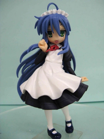 main photo of Figure Meister Lucky Star Support Domine Collection Set: Konata Izumi A