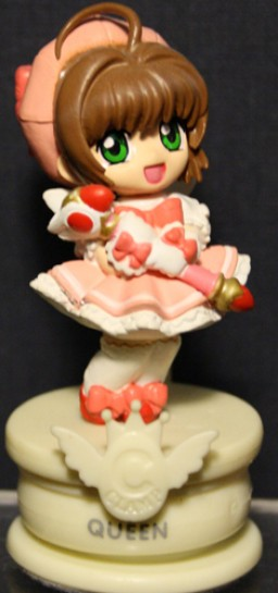 main photo of Clamp no Kiseki: White Queen Sakura chess piece