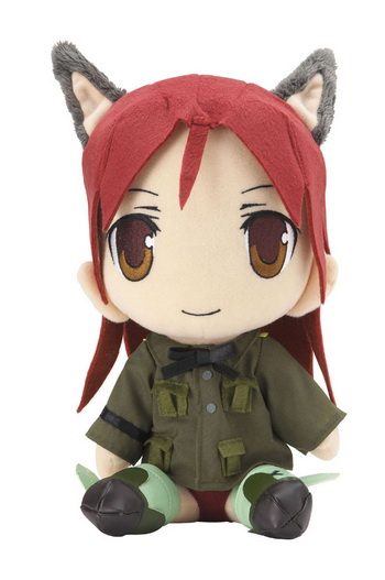 main photo of Strike Witches Chara Mofu Plush: Minna-Dietlinde Wilcke