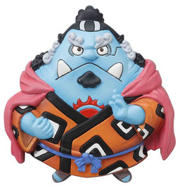 main photo of One Piece Mascot Relief Magnet: Jinbei