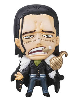 main photo of One Piece Mascot Relief Magnet: Sir Crocodile