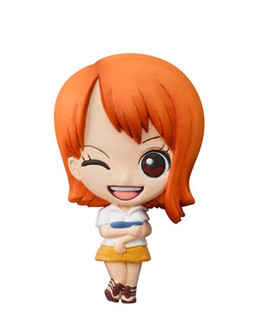 main photo of One Piece Mascot Relief Magnet: Nami