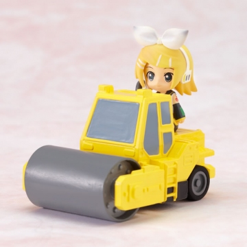 main photo of Nendoroid Plus Vocaloid Pull-back Cars Rin