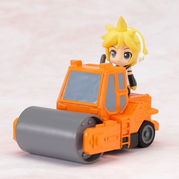 main photo of Nendoroid Plus Vocaloid Pull-back Cars Len