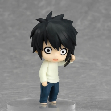 main photo of Nendoroid Petite: Death Note - Case File #02: L 01