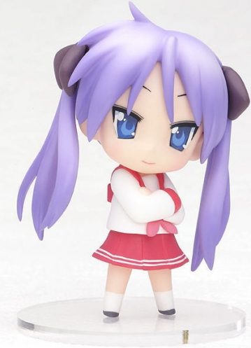 main photo of Lucky Star Nendoroid Petite Season 01 Kagami Hiiragi Winter Uniform Ver