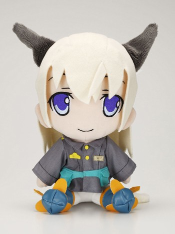 main photo of Strike Witches Chara Mofu Plush: Eila Ilmatar Juutilainen
