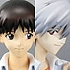 Ikari Shinji & Kaworu Nagisa School Uniform Ver