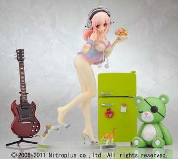 main photo of Creators' Labo #028 Super Sonico Babydoll Ver. DX Edition