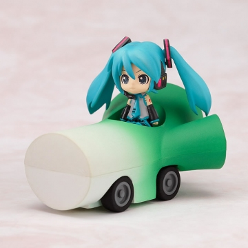 main photo of Nendoroid Plus Vocaloid Pull-back Cars Miku