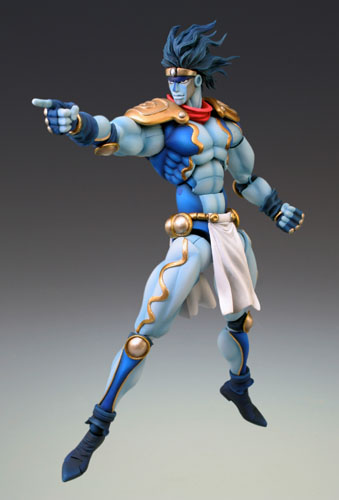 main photo of Super Action Statue 10 Star Platinum Second