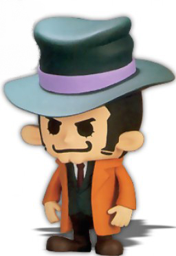 main photo of Zenigata PansonWorks DX Soft Vinyl Figure 1 ver.