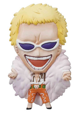 main photo of One Piece Mascot Relief Magnet: Donquixote Doflamingo