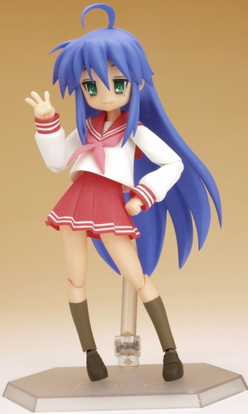 main photo of figma Konata Izumi Winter Uniform Ver