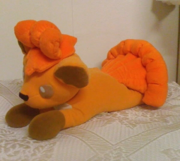 main photo of Large Tomy Pokemon Vulpix Plush