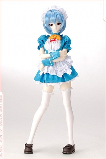 main photo of Dollfie Dream Ayanami Rei Maid Dress Ver.