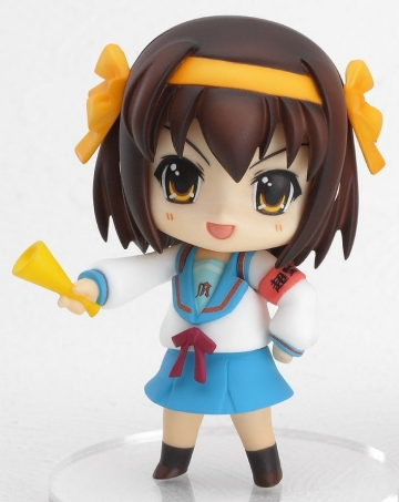 main photo of Nendoroid Petit Melancholy of Haruhi Suzumiya #01: Suzumiya Haruhi 1