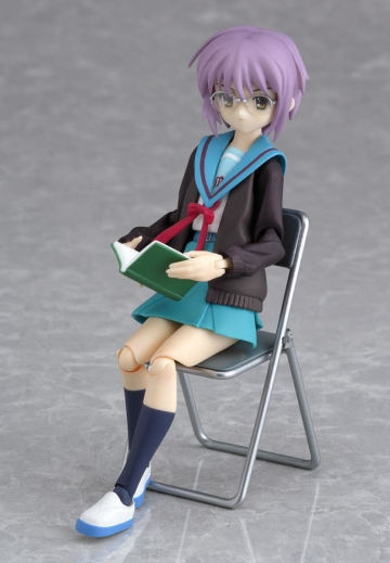 main photo of figma Yuki Nagato Uniform Ver