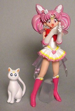 main photo of HGIF Sailor Moon World 4: Artemis & Super Sailor Chibi-Moon